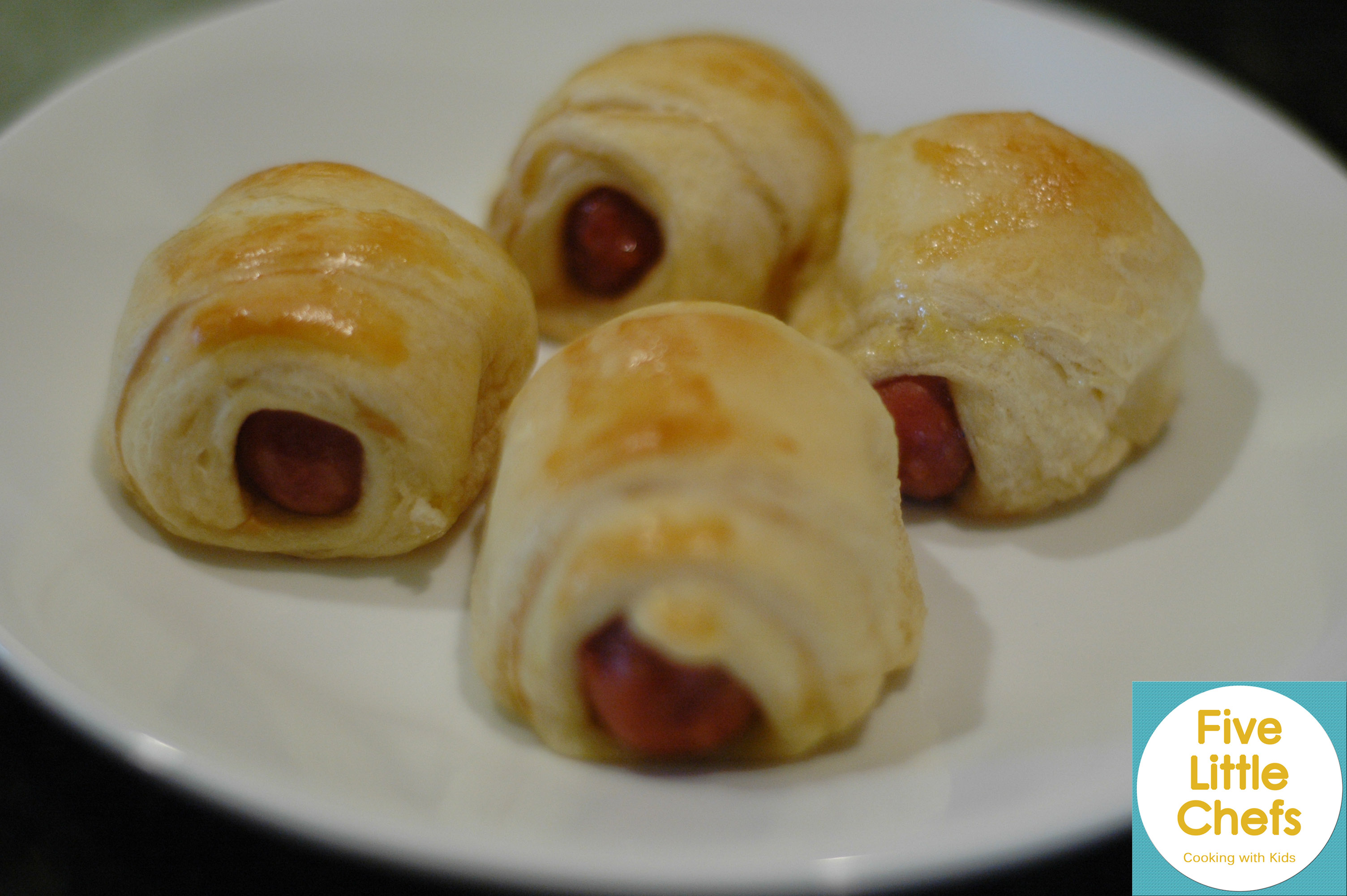 Neely's Pigs in a Blanket | Five Little Chefs