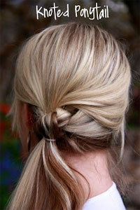 Knoted-Ponytail