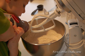 Pouring ingredient for bread