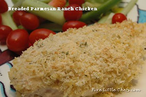 Breaded Parmesan Ranch Chicken