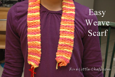 Easy Weave Scarf