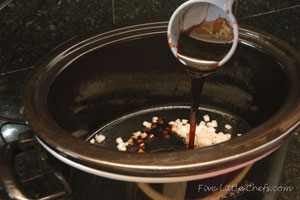 Measuring molasses