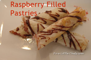 Raspberry Filled Pastries