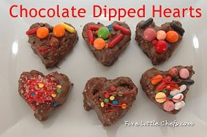Chocolate Covered Hearts