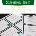 st patick days cavenger huntimage