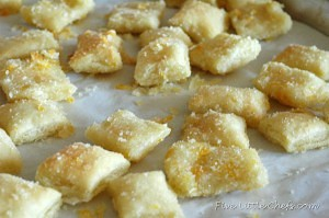 Zesty Orange Bites at fivelittlechefs.com