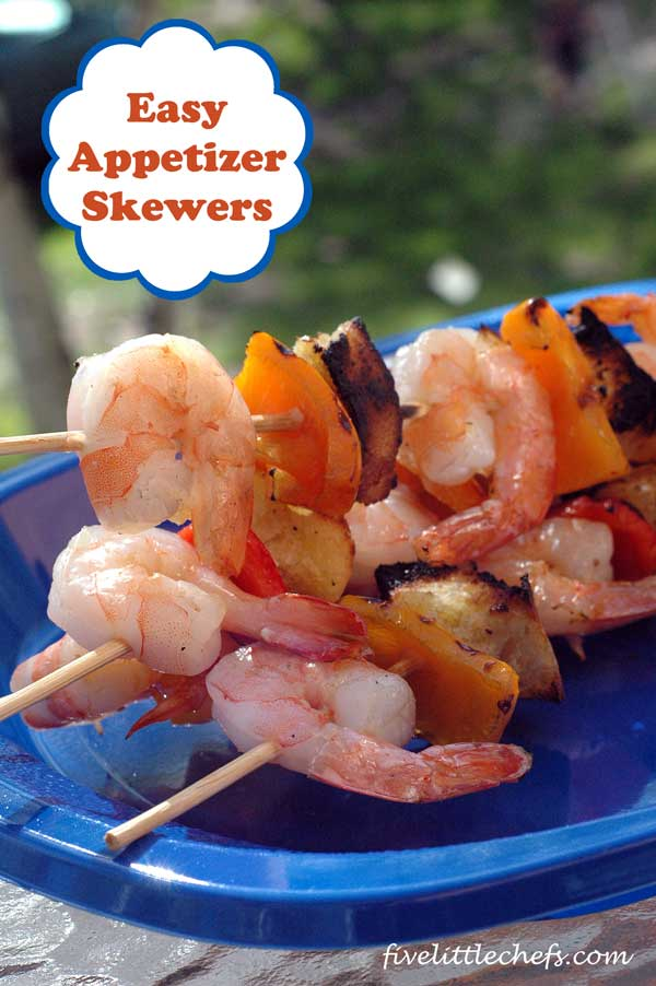 easy appetizer skewers