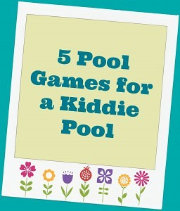 5 kiddie pool ideas for summer.