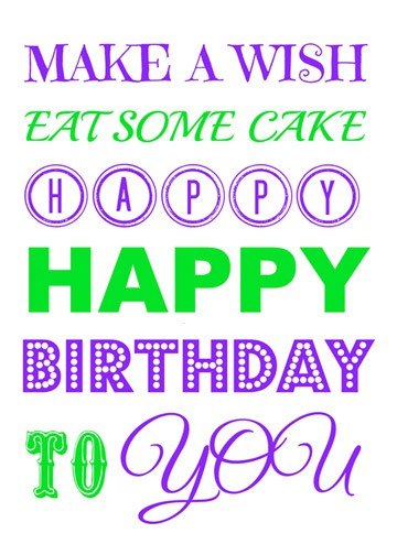 Free birthday printable from fivelittlechefs.com #printable