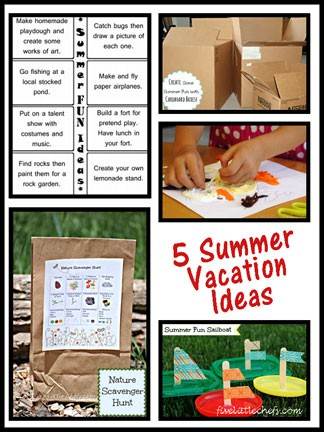 5 Summer Vacation Ideas