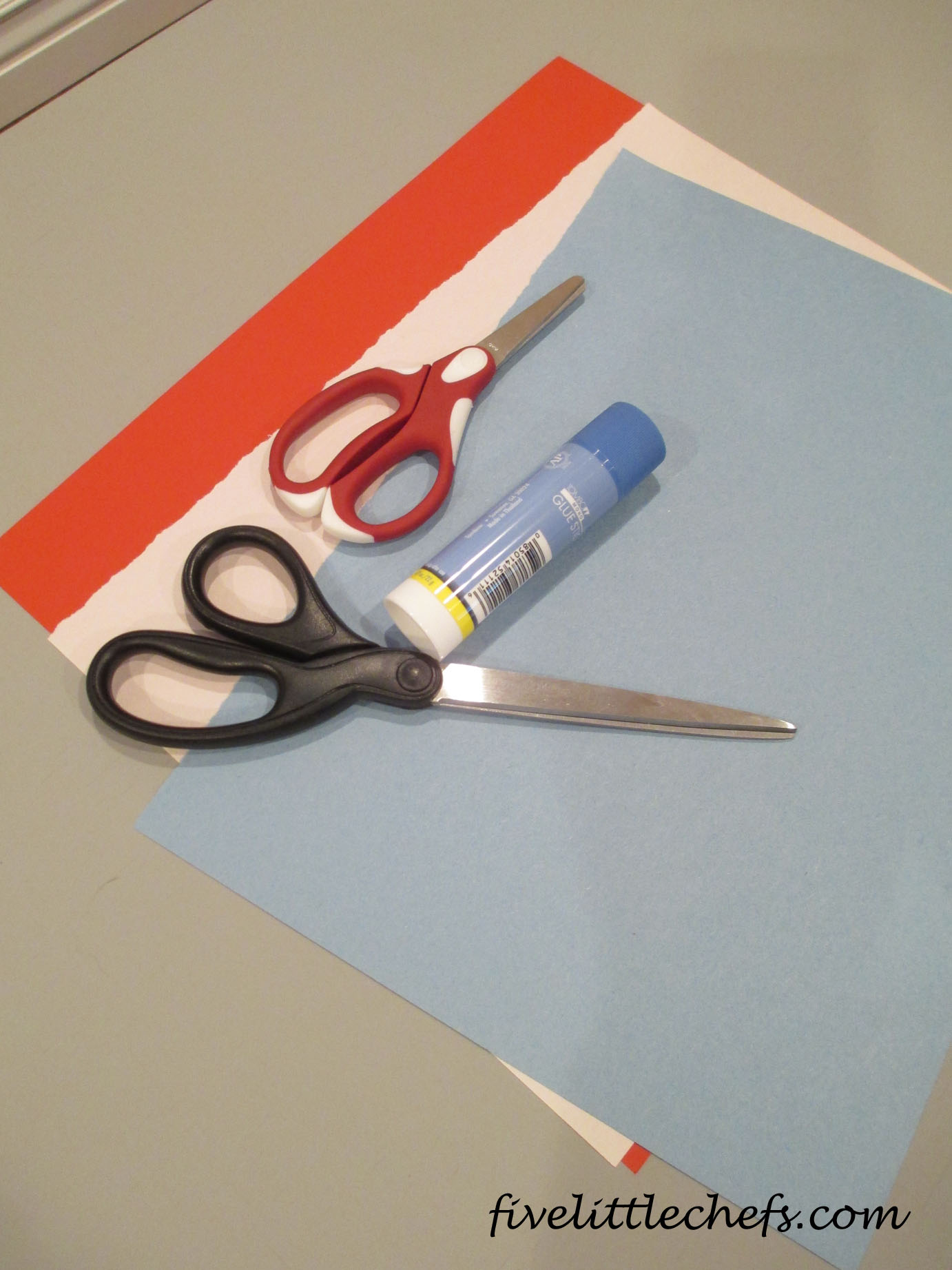 What is a blue paper?