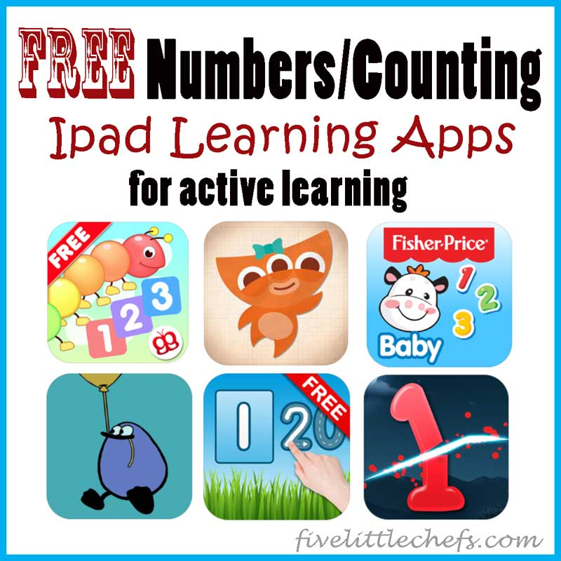 Free Ipad Number Apps for active learning