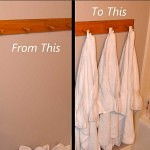 A Simple Hanging Bath Towel
