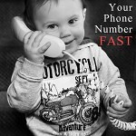 teach your child your phone number fast