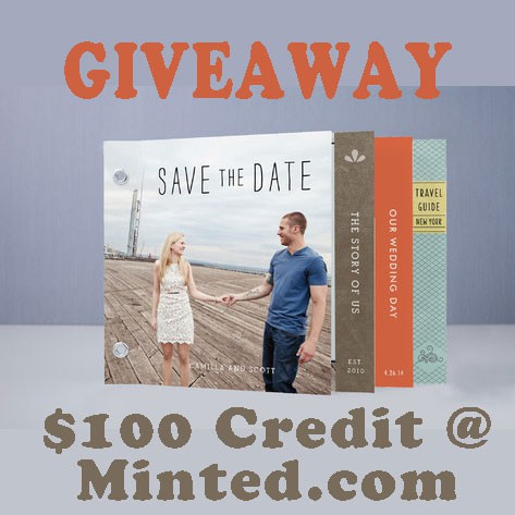 Enter the giveaway for $100 to minted.com which ends 5/16.