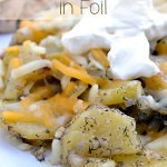 Dill Grilled Potatoes in Foil is one of those easy dinner recipes that is simple to prepare and simple to clean up.