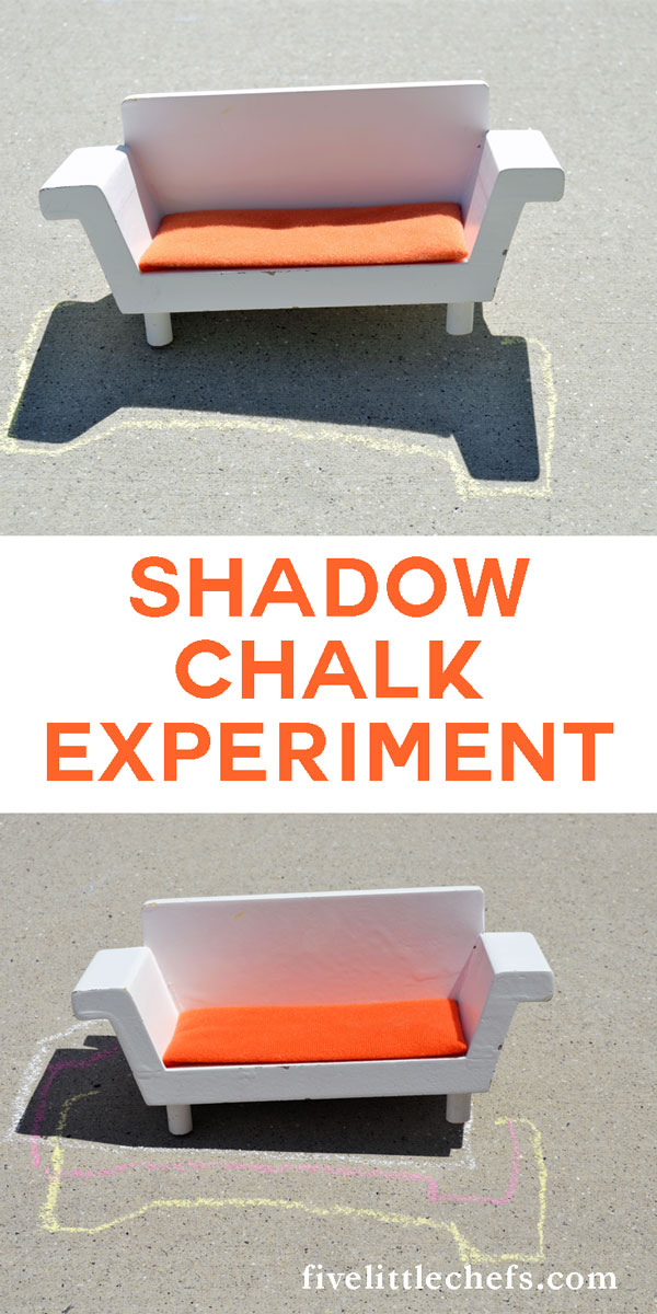 Teach your kids about the sun and earth with through this shadow chalk experiment. Learning is fun when mixed with play - active learning.