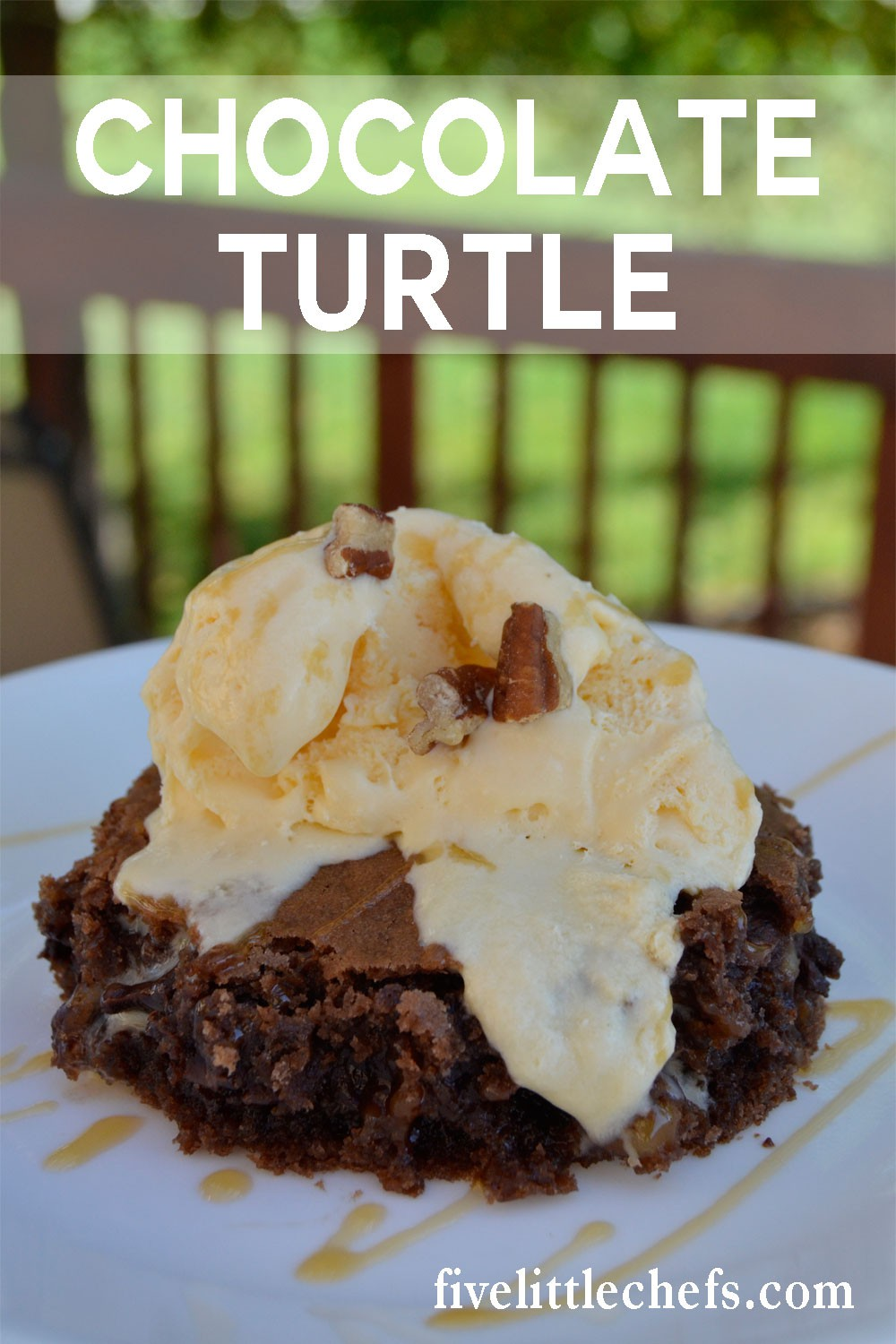chocolate-turtle-cake
