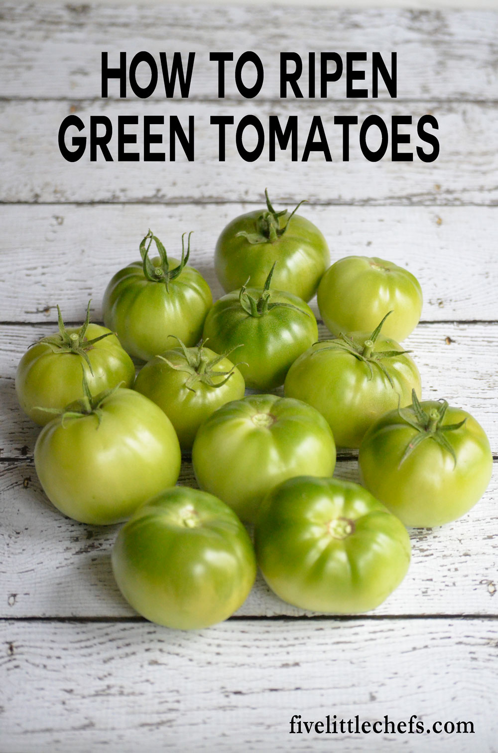 how to ripen green tomatoes five little chefs. Black Bedroom Furniture Sets. Home Design Ideas