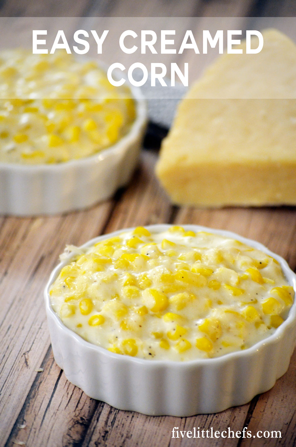 Easy Creamed Corn is a favorite side dish. This recipe can be made just before serving or in the morning and kept in the crock pot.