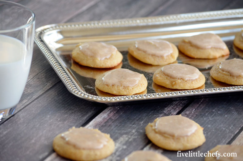 Eggnog cookies is an easy recipe with an eggnog icing. They are soft ...