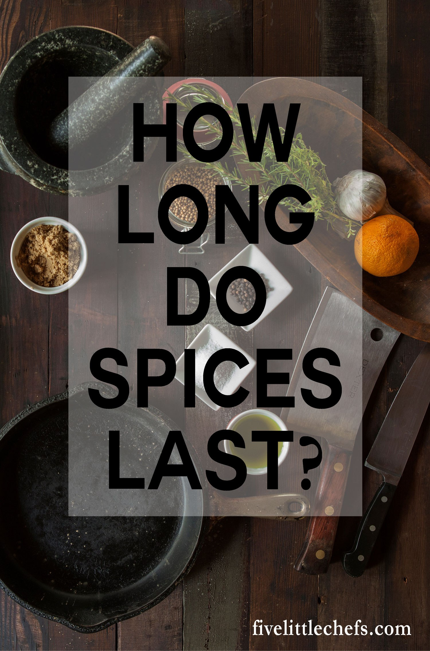 How long spices last is determined by many factors. A quick tip on what to do if you do not want to replace your spices is also included.