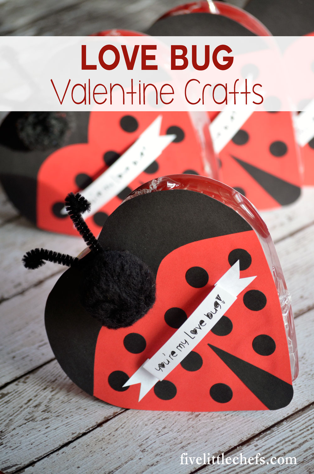 Valentine love bug craft - Love Bug Chocolate Craft Is A Perfect Valentine S Day Gift For Kids Or For A Family