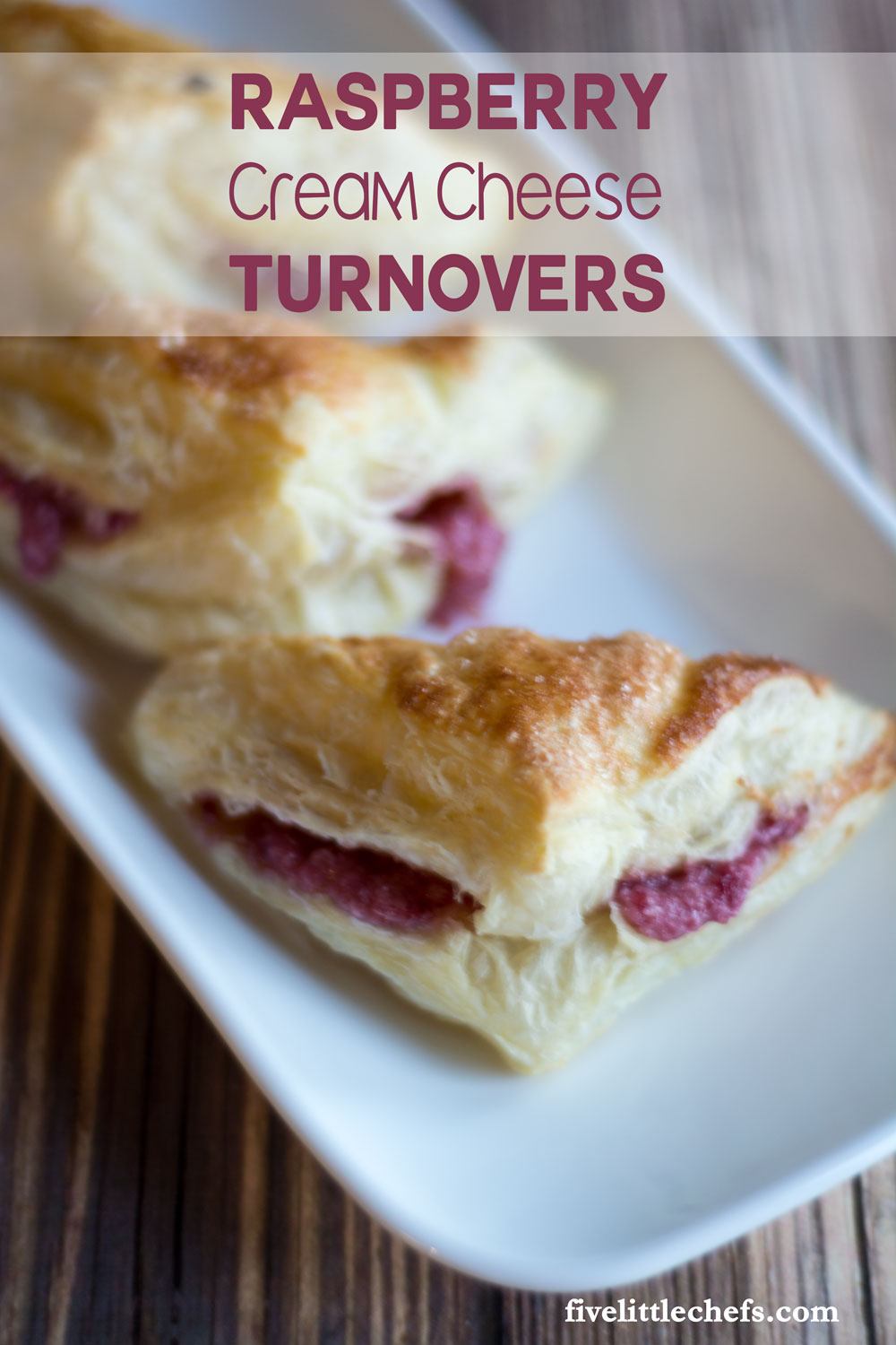 Raspberry Cream Cheese Turnovers are SO easy to make. Just a few ingredients and about 40 minutes. This danish recipe is sure to impress your guests.