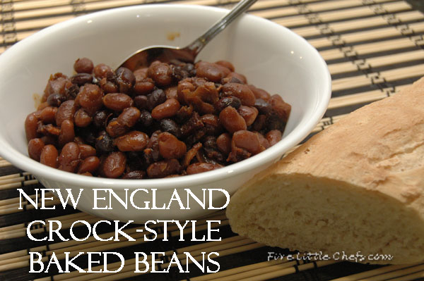 New England Crock-Style Baked Beans