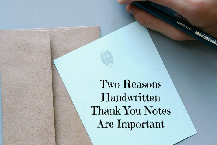 Handwritten thank you notes are a perfect way to express gratitude. Discover the two main reasons why handwritten thank you notes are important.