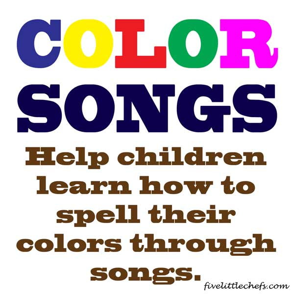 color songs kids songs