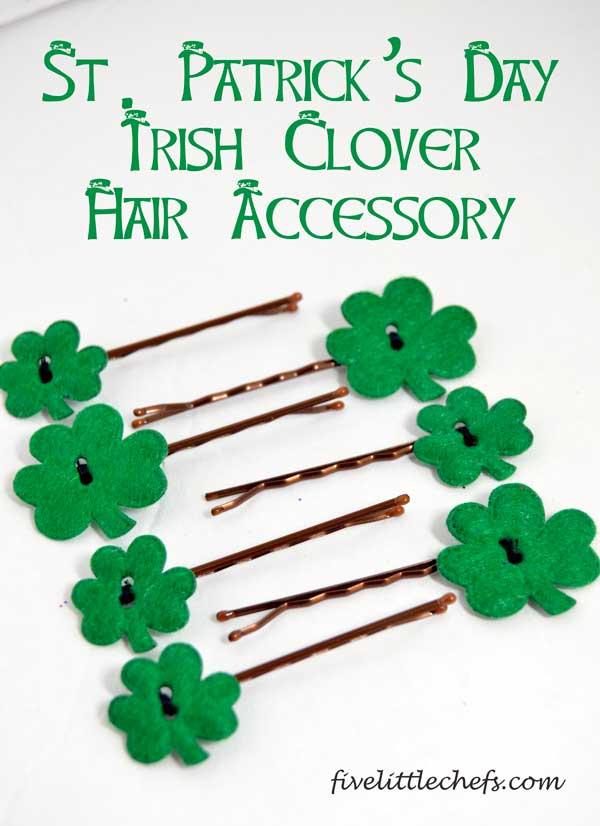 St. Patrick's Day Irish Clover Hair Accessory